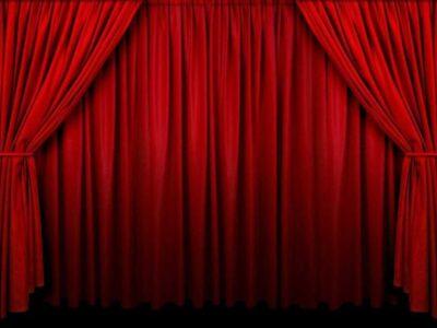 Preloader Curtains
