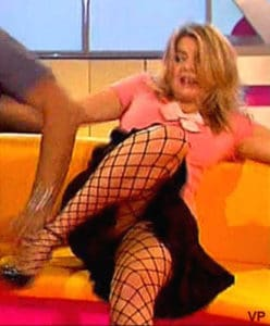 Holly Willoughby Showing More Than She Wanted To
