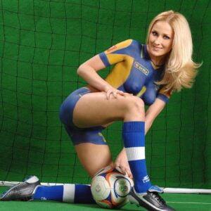 Ava Saving The Ball