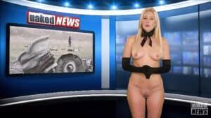 Naked Newsreader