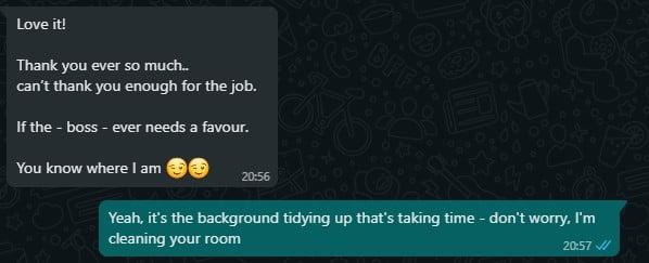 Mixed Messages second screenshot